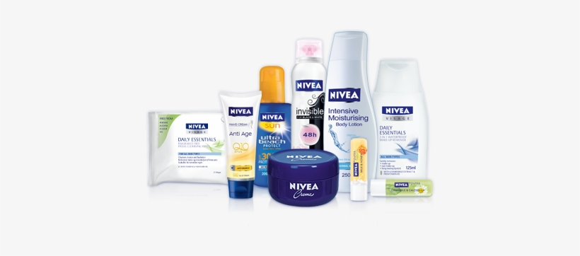 Universally Trusted Brands From Nivea, One Of The World's - Nivea Products For Women, transparent png #2693031
