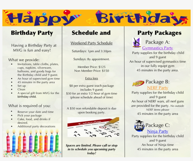 Enrollment Form - Wish Time! Happy Birthday Card Quantity(25), transparent png #2697168