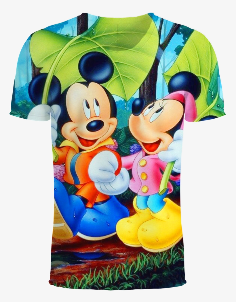 Anime Mickey Minnie Mouse 3d T Shirt Disney Wallpapers For
