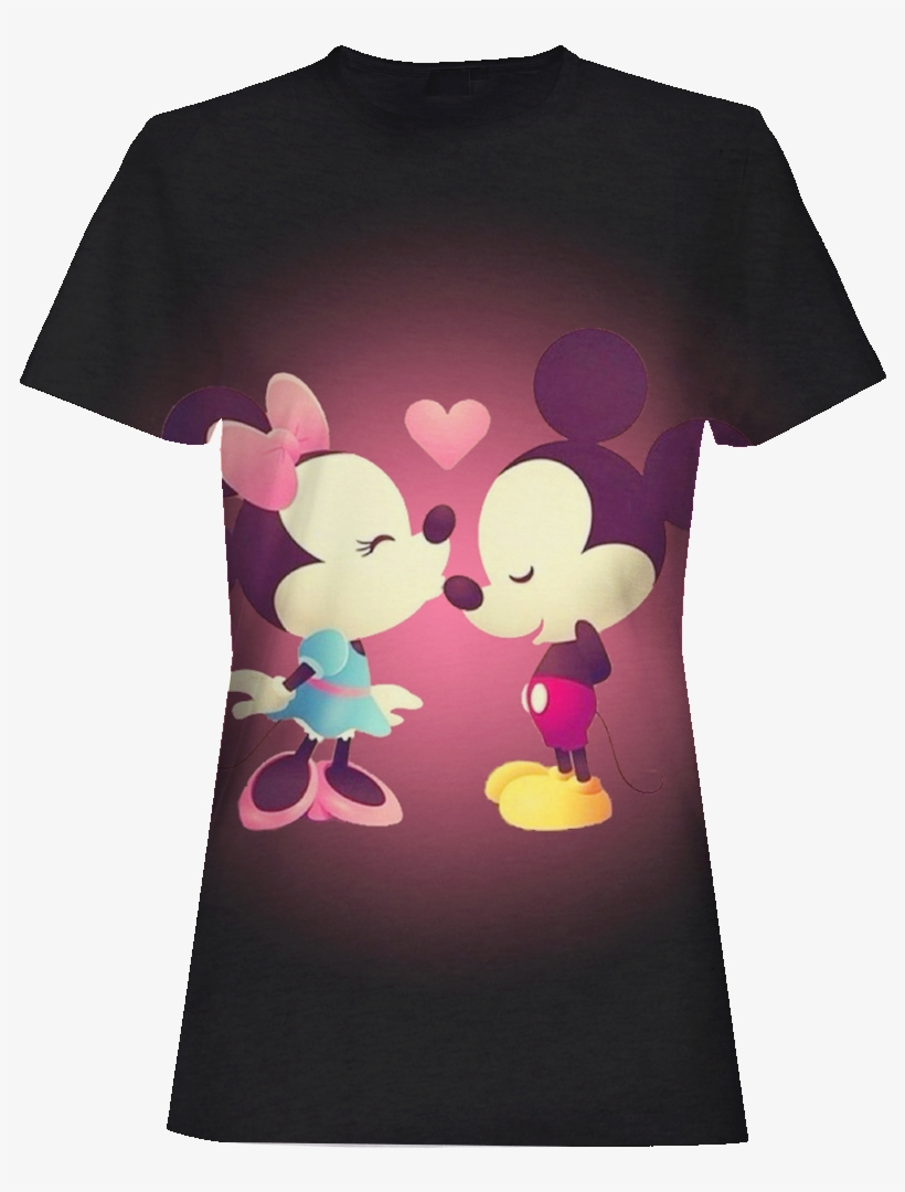 Anime Mickey Mouse 3d T-shirt - Iphone Wallpaper Minnie And Mickey Mouse, transparent png #2697541