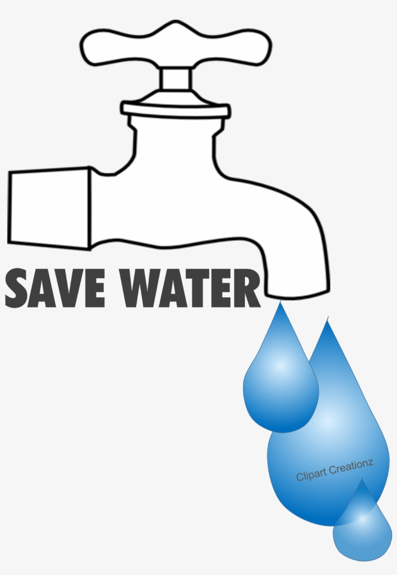 Save Water Poster Free - Save Water Clip Art, transparent png #2698282