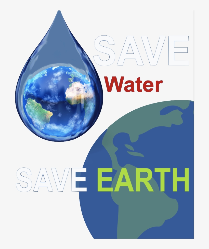 Save Water Save Earth Posters, transparent png #2698336