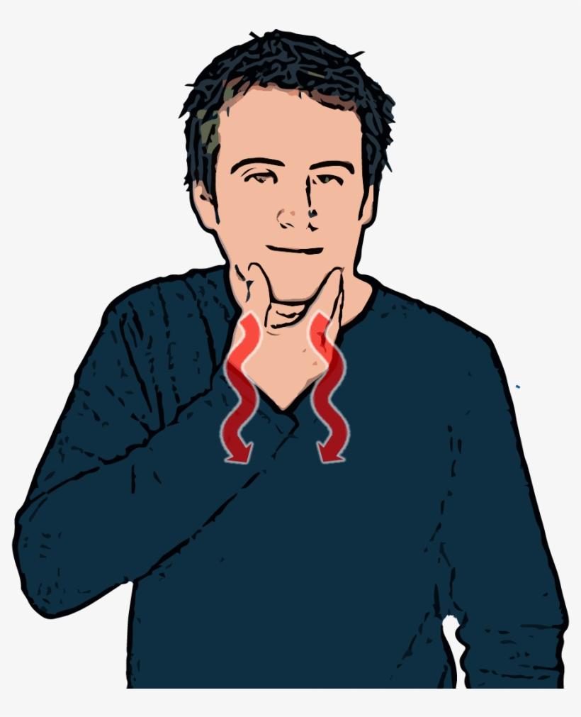British Sign Language - British Sign Language Man, transparent png #2698603