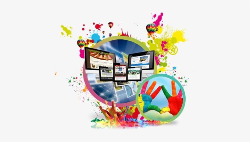 Web Creativity Design Service - Web And Graphics Design, transparent png #2699715