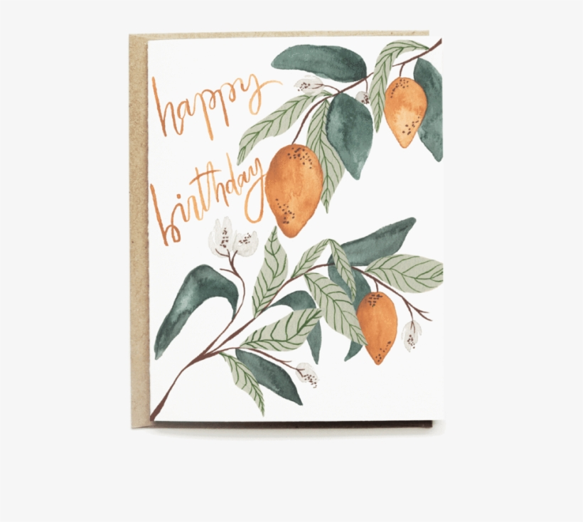Lemons Happy Birthday Card - Greeting Card, transparent png #270176