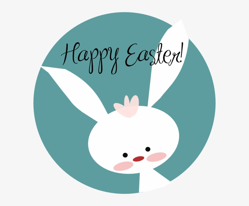 Easter bunny happy. Clip art clipart free