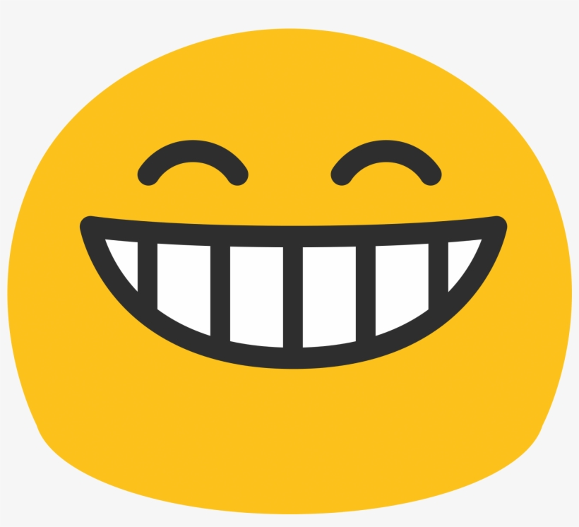 Emoticon Ghost Stickpng Grinning - Smiley Face Emoji Android, transparent png #270869