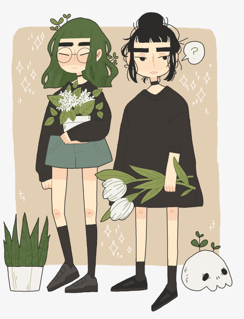 Aesthetic cute drawing Artsy Garden Drawing Aesthetic Cute Cartoon Art Style Transparent Png 270995 Pngkey Garden Drawing Aesthetic Cute Cartoon Art Style Free Transparent