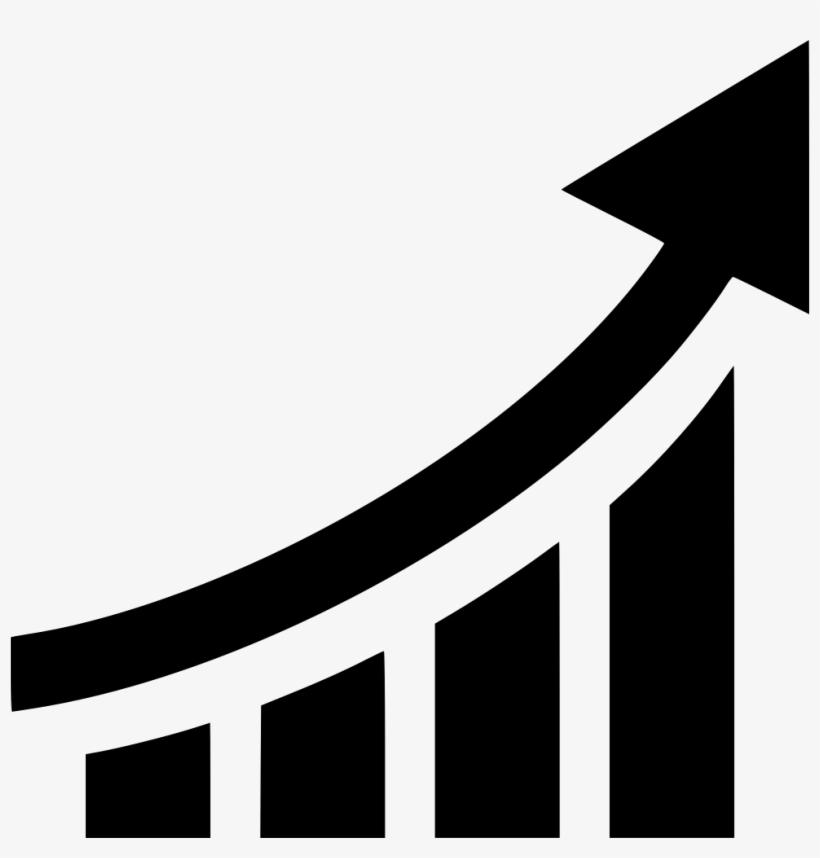 Chart Graph Line Arrow Comments - Graph Line With Arrow, transparent png #271495