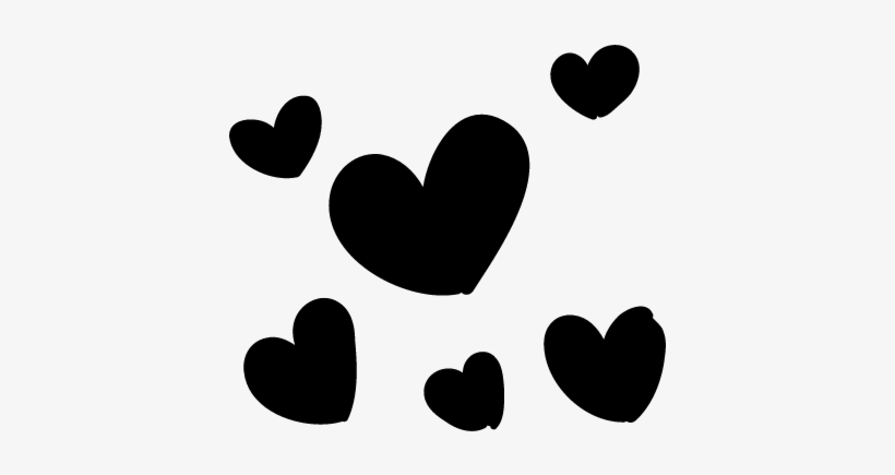 Small Hearts Vector - Small Heart Svg, transparent png #273222