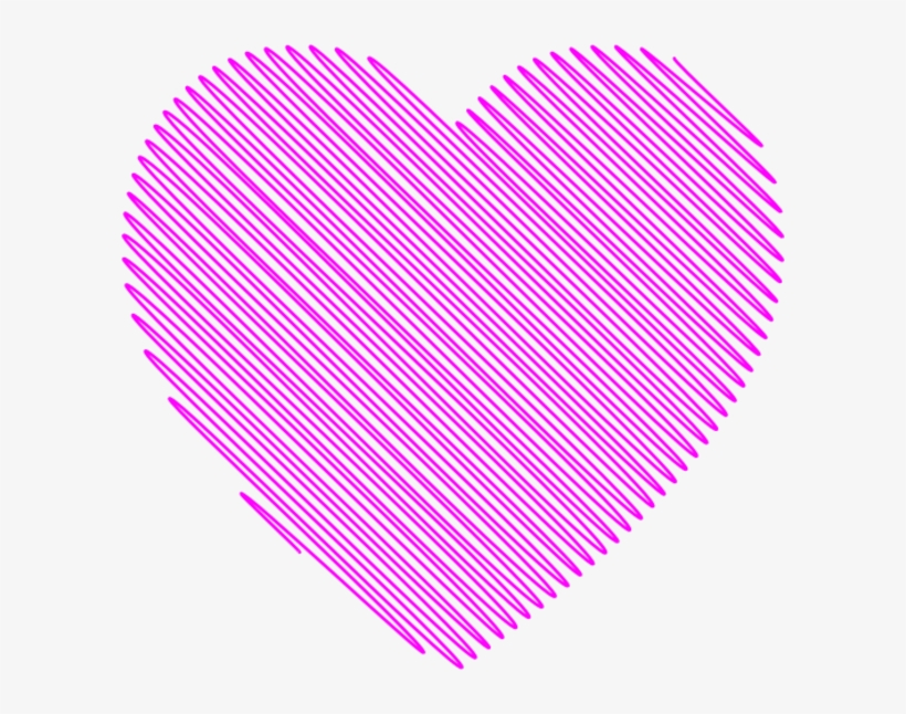Heart Clipart Scribble - Red Heart Scribble Transparent, transparent png #274034