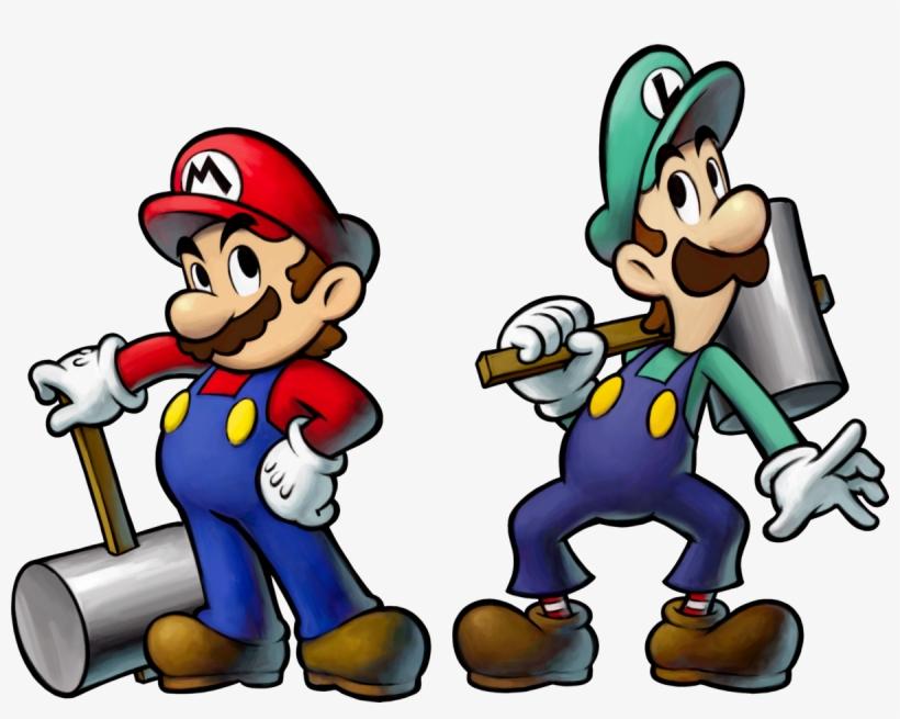 Mario Transparent And Luigi - Mario And Luigi Bowser's Inside Story Mario, transparent png #274829