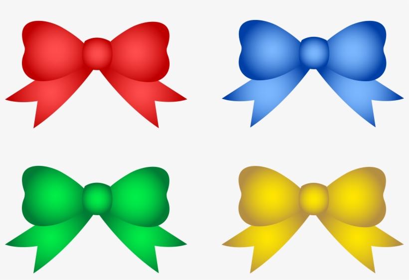 Ribbon Clipart Party Decoration - Christmas Tree Decor Clipart, transparent png #274871