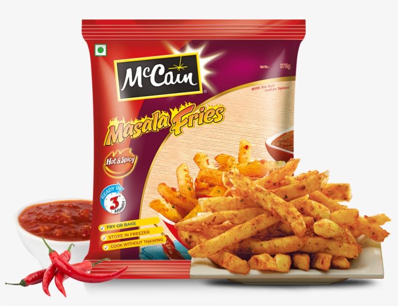 Mccain Hot & Spicy Masala Fries - Mccain Masala Fries 375 Gm - Free