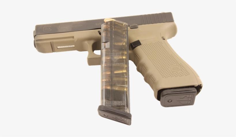 Ets 10 Rnd 9mm Mag - Ets Glock 17 Mag, transparent png #276267