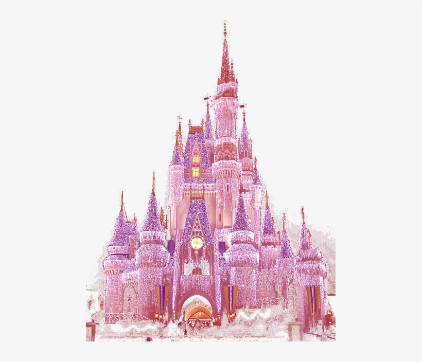 254 Images About Pastel Bae🦄 On We Heart It - Disney World, Cinderella Castle, transparent png #276528