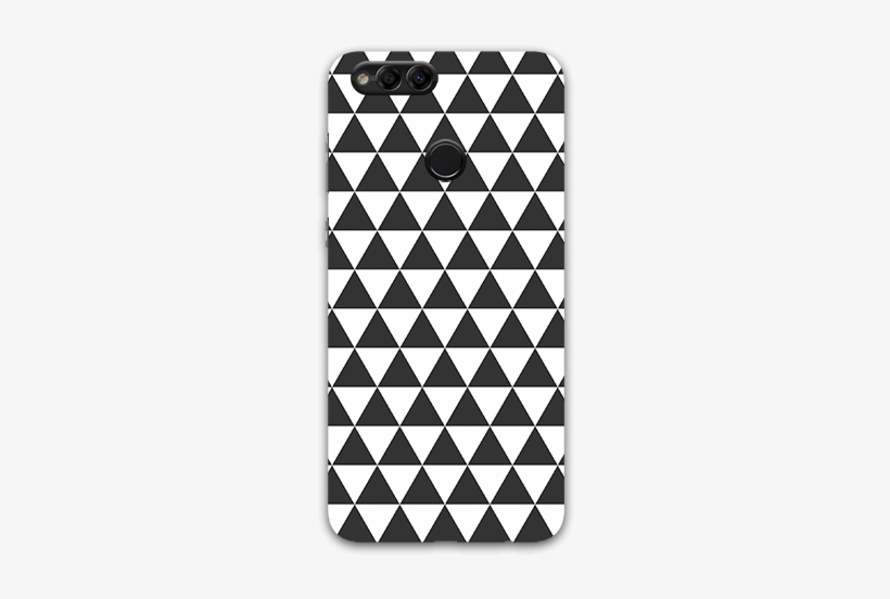 Pyramid Pattern Honor 7x Mobile Case - Modern Baby Shower Invitations, transparent png #276711