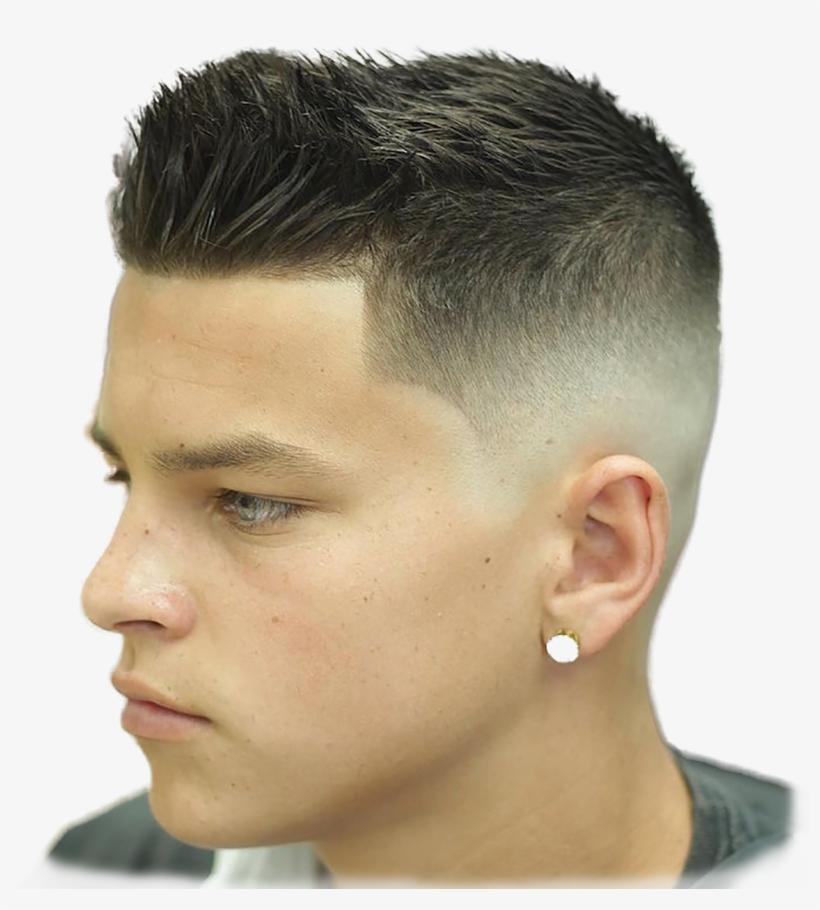 Men Mens Skin Fade Haircut 2018 Free Transparent Png Download Pngkey