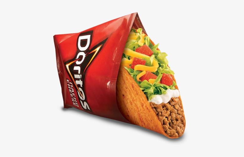 Doritos Locos Tacos - Nacho Cheese Doritos Taco Bell, transparent png #278233
