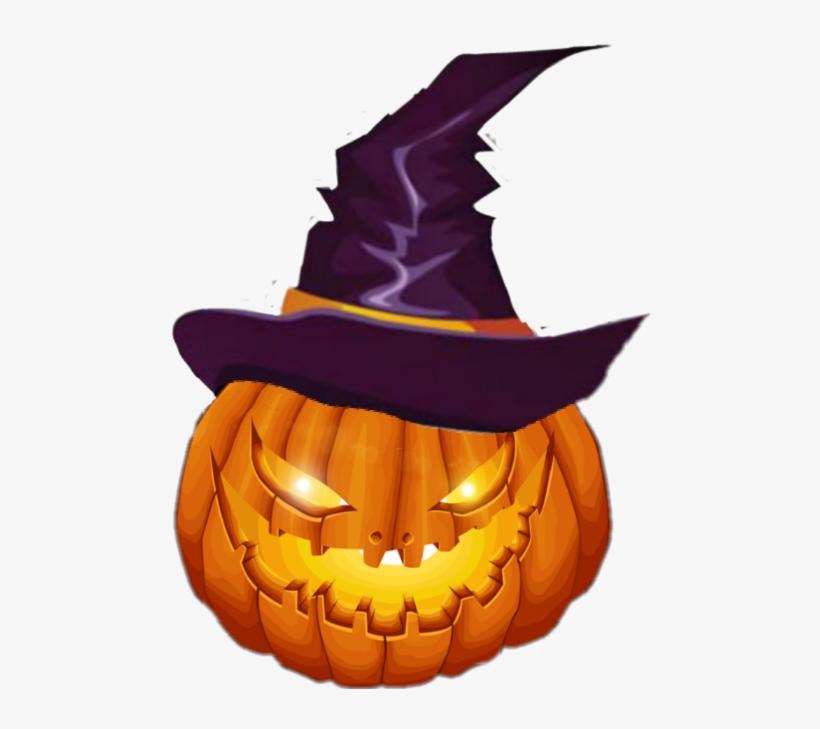 Happy Halloween Pumpkin - Greeting Card, transparent png #278258