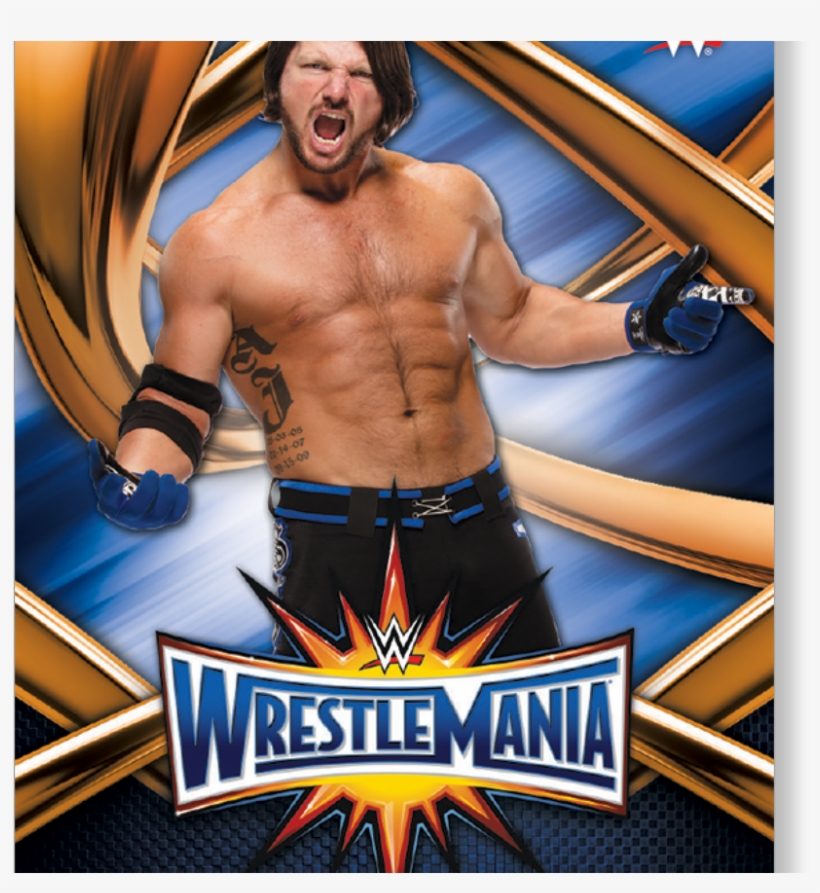 Aj Styles 2017 Wwe Road To Wrestlemania Wrestlemania - Official Wwe The Shows Soft Gel Case, transparent png #278553