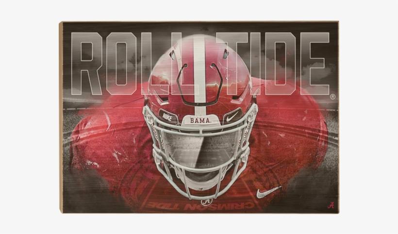 """Alabama Crimson Tide """"bama Bring It"""" Licensed Wall - Alabama Crimson Tide Football, transparent png #278852"""
