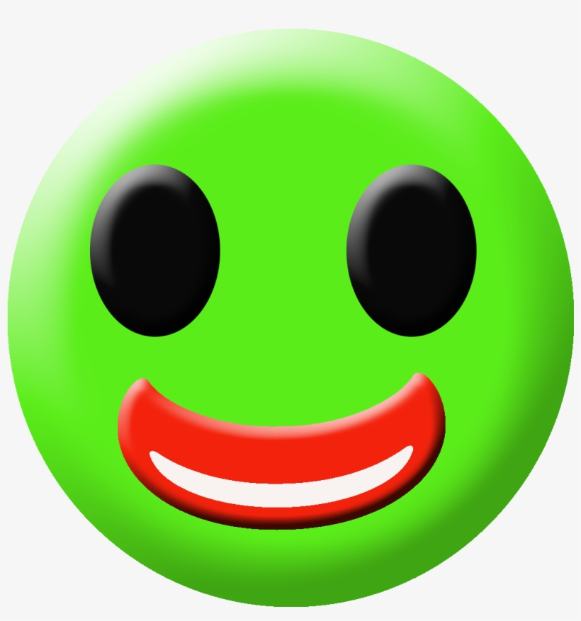 Colored Happy Emoji - Smiley - Free Transparent PNG Download