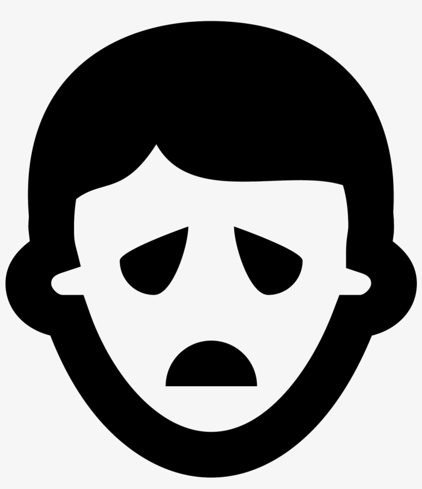 Sad Face Icon Png - Face Icon, transparent png #279561