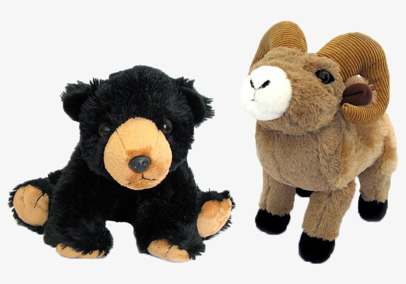 Holiday Plush Bear Bighorn Sheep Stuffed Toy Free Transparent