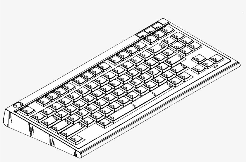 picture relating to Printable Computer Keyboard named Printable Coloring Web pages Of Personal computer Sections With Find out