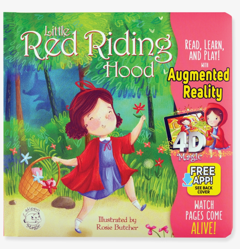 Little Red Riding Hood - Little Hippo Books, transparent png #2718090