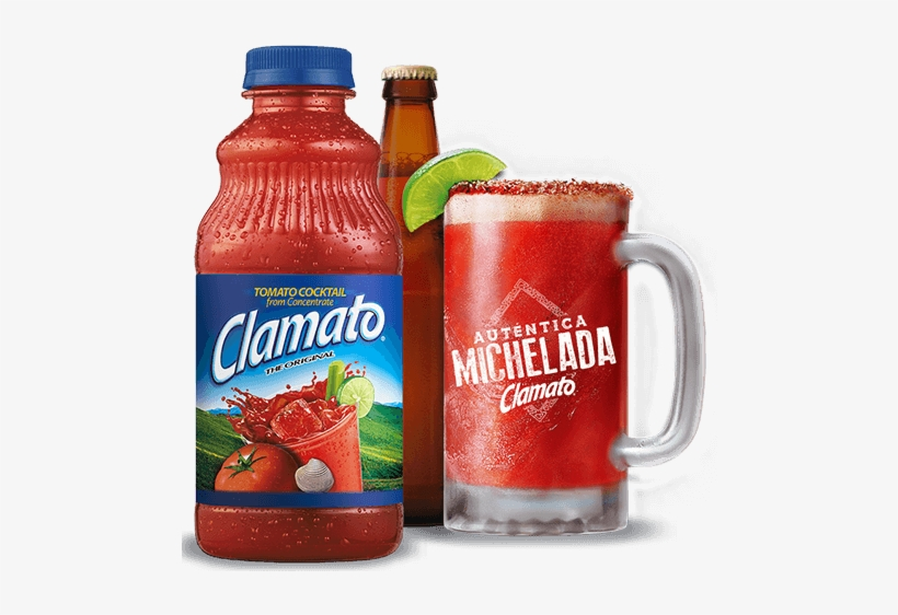Clamato Tomato Cocktail Juice 946ml - Clamato Original Tomato Cocktail, 32 Fl Oz Bottle, transparent png #2719153