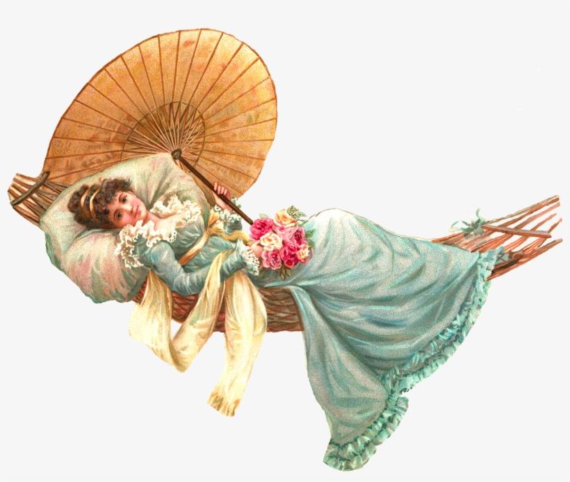 Vintage Woman Cliparts - Victorian Lady Clip Art, transparent png #2719880