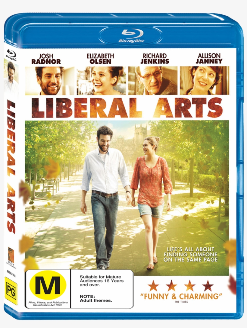 Up Falling For Student Zibby - Liberal Arts Starring Josh Radnor (dvd), transparent png #2726938