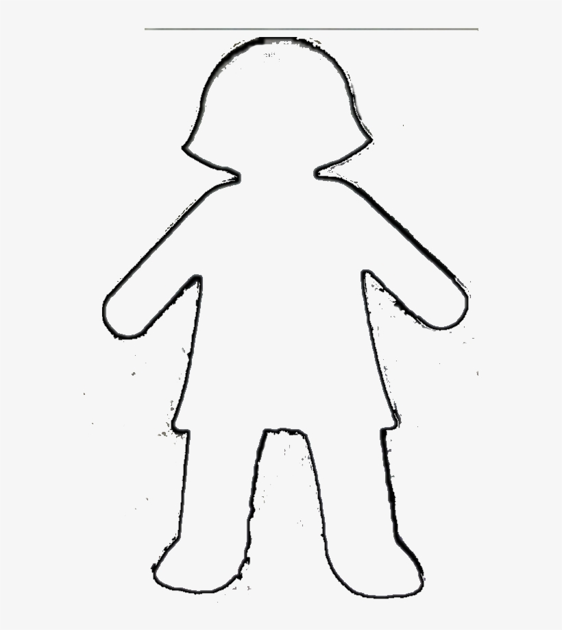 Clipart Body Template Superhero Cliparts Free Boy And Outline Transpa Png
