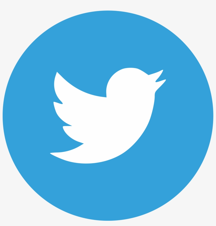 Twitter Feed - Twitter Icon Grey Circle, transparent png #2730561