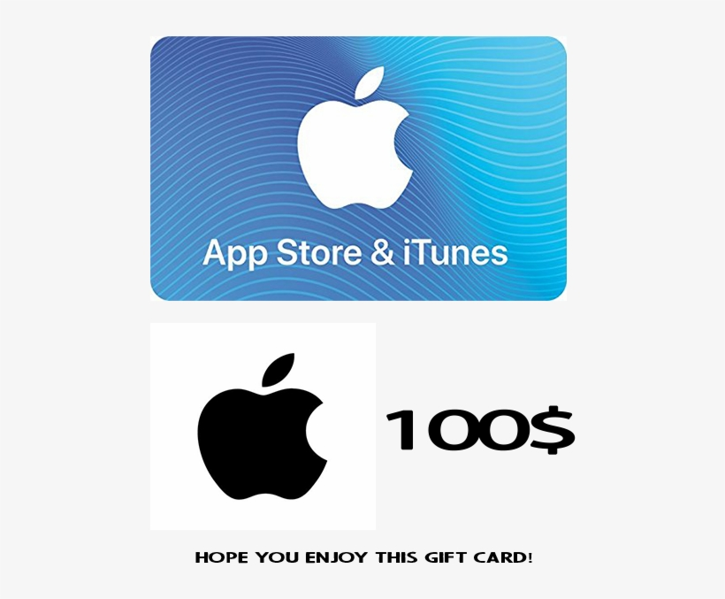 Apple - App Store & Itunes Gift Card (e-mail Delivery), transparent png #2730593