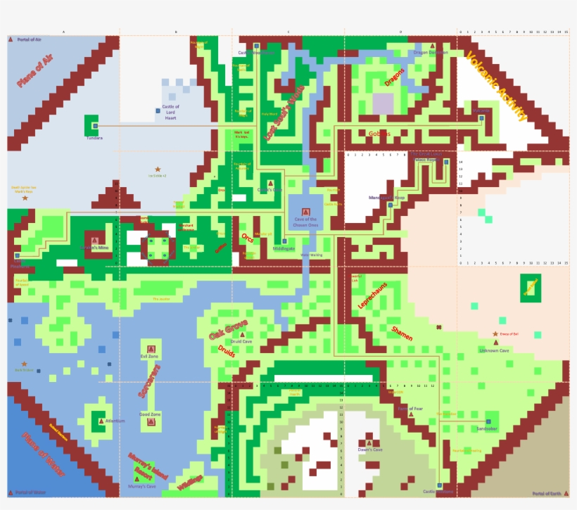 Might And Magic Book Two - Might And Magic 2 Map, transparent png #2733994