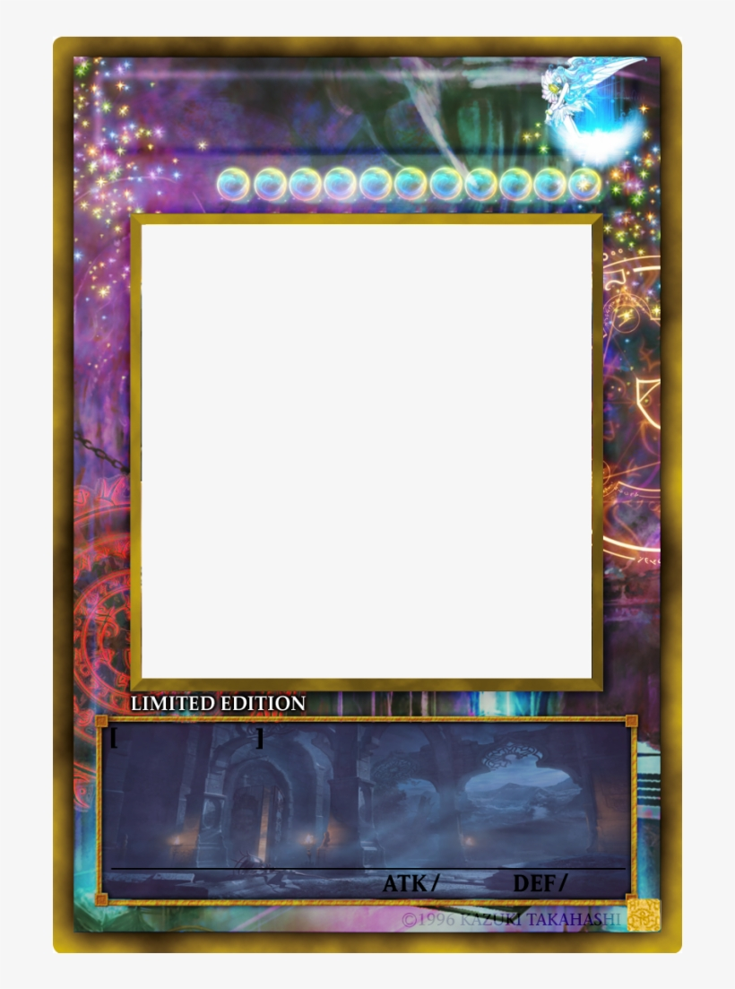 Yugioh Card Png - Yu Gi Oh Card Base, transparent png #2735190