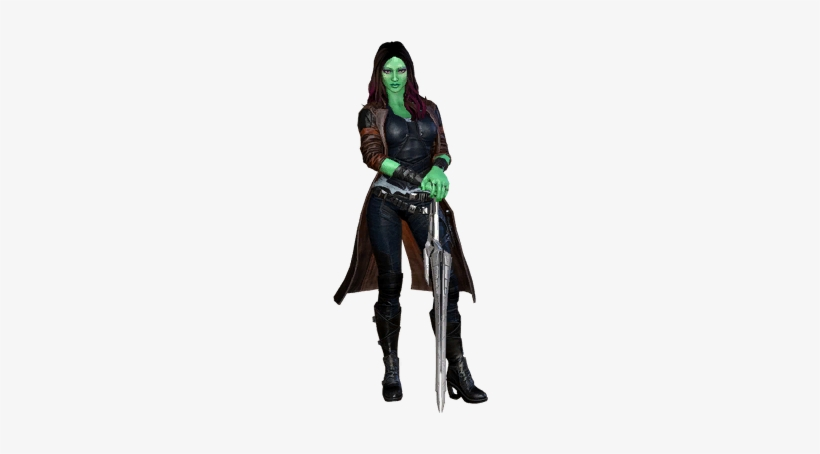 Any Hero - Marvel Heroes Omega Gamora - Free Transparent PNG