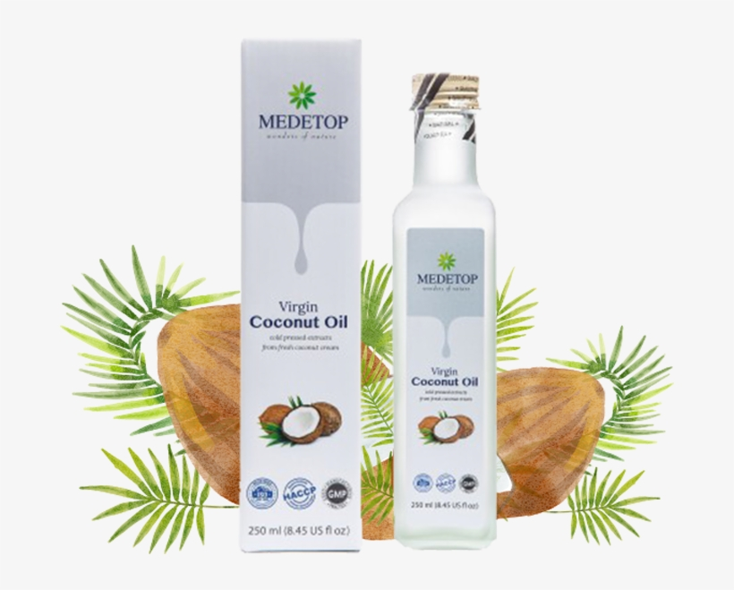 The Coconut Oil Has Been Recognised As Health Oil In - Medetop Virgin Coconut Oil, transparent png #2739417
