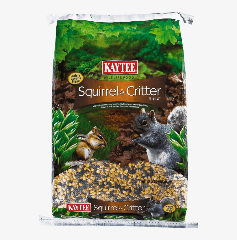 Squirrel And Critter Blend - Squirrel And Critter Blend, 20-pound, Usa, Brand Kaytee, transparent png #2740343