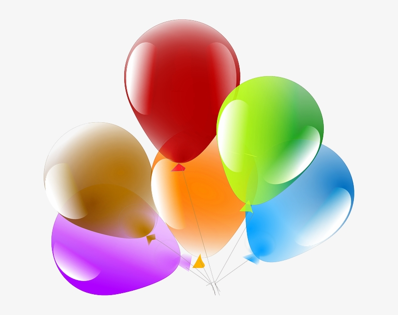 Baloes De Aniversario 3d Png Transparent Background Balloons Png