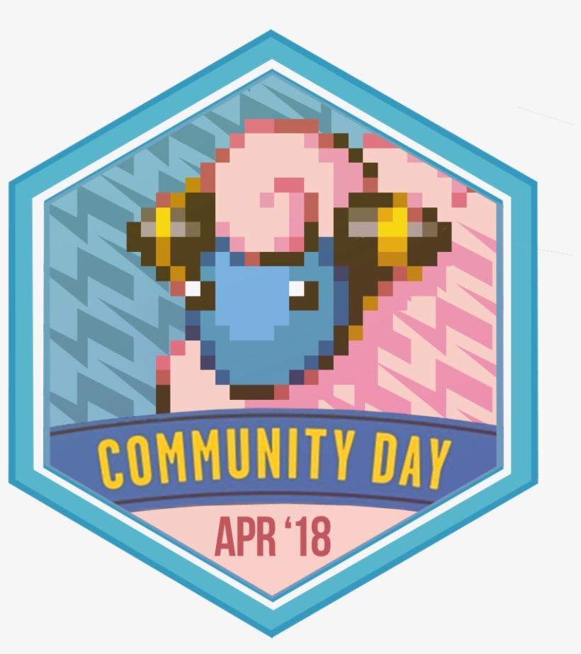 Badge Badge-large - Pokemon Go Community Day Pins, transparent png #2745321