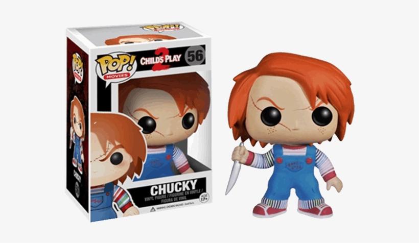 Funko Pop Movies: Chucky Vinyl Figure, transparent png #2746477