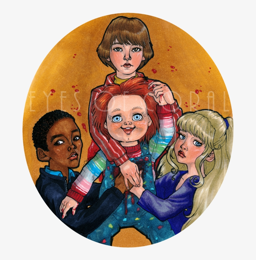 Horror Art, Horror Movies, Child, Doll, Play, Story - Chucky Their Friend To The End, transparent png #2746525