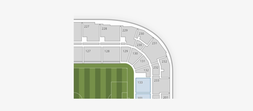 Red Bull Arena Seating Chart Free Transparent Png Download