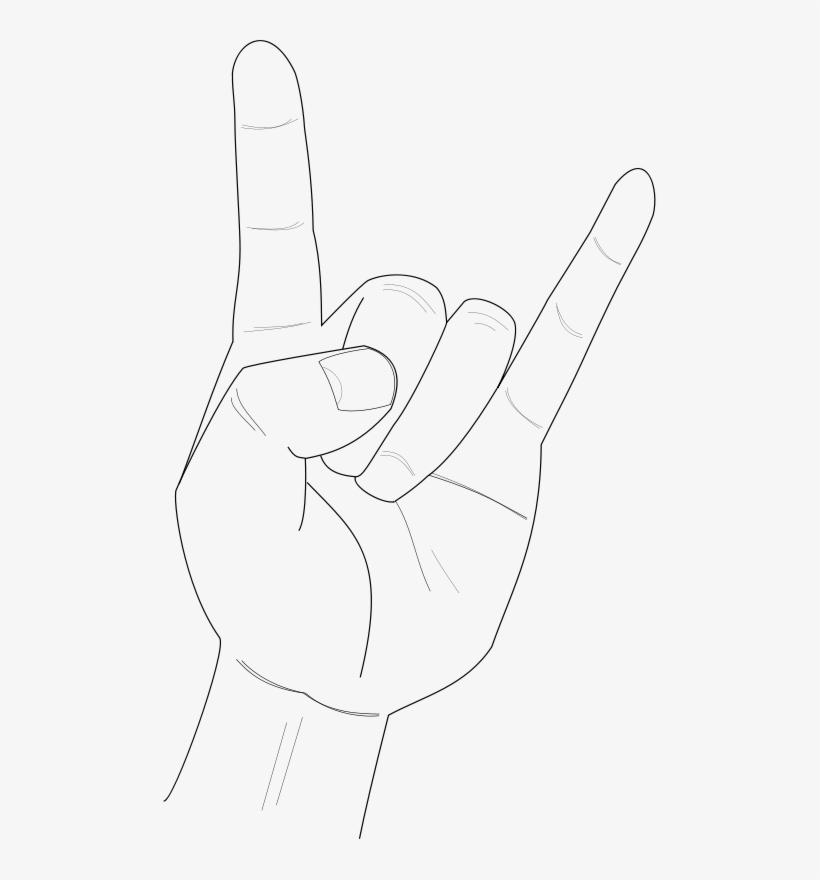 Free Vector Heavy Metal Gambar Tangan Metal Animasi Free Transparent Png Download Pngkey