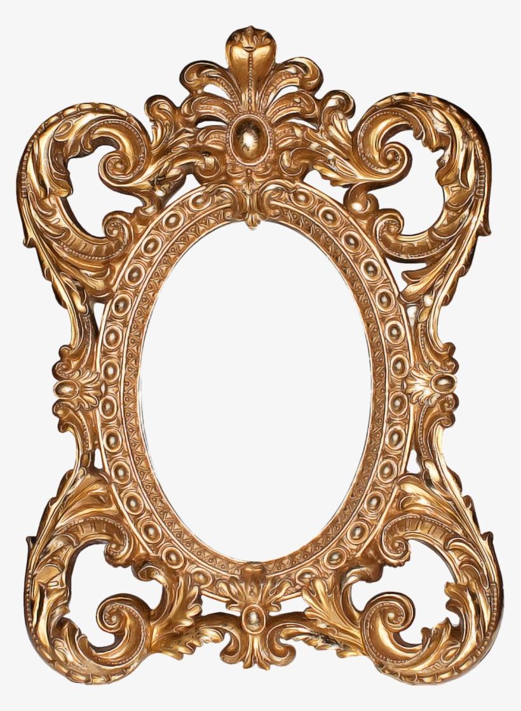 G By Fatimah Al Khaldi On Deviantart - Vintage Gold Oval Frame Png, transparent png #2755882