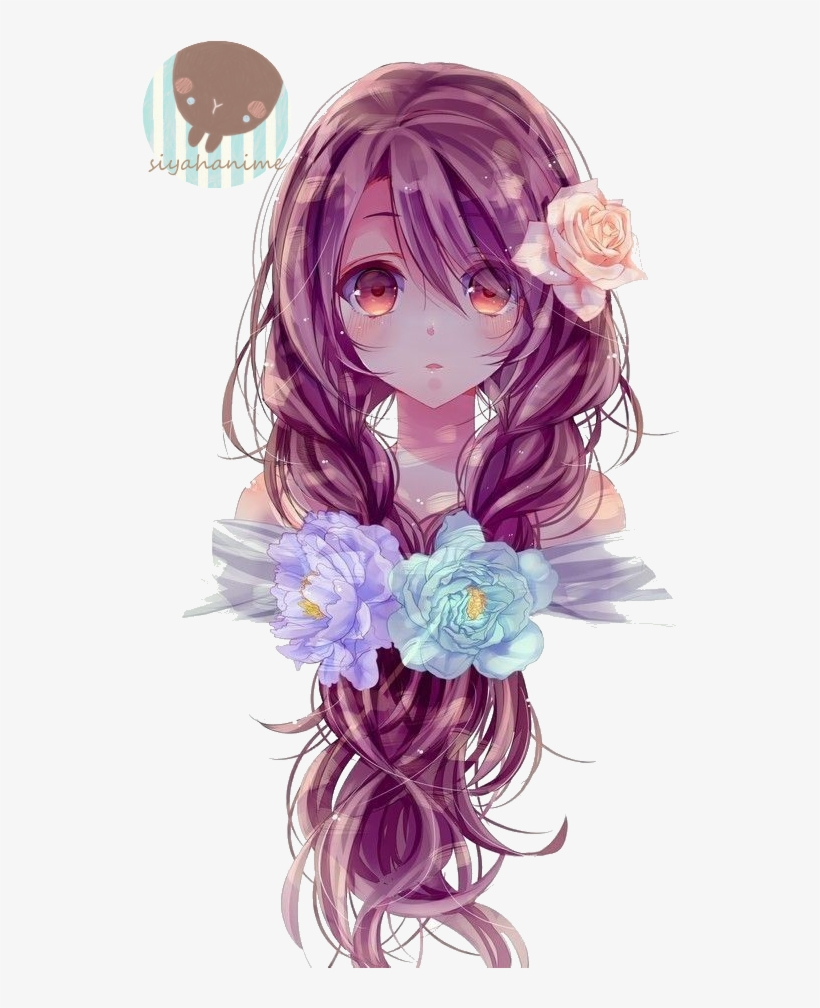 Anime Png - Beautiful Anime Girl Hair, transparent png #2759906